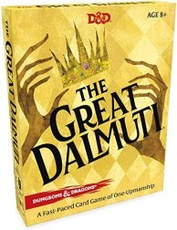 Amazon.com: Wizards of the Coast The Great Dalmuti: Dungeons & Dragons |  D&D Card Game | 4–8 Players | Ages 8+: Toys & Games