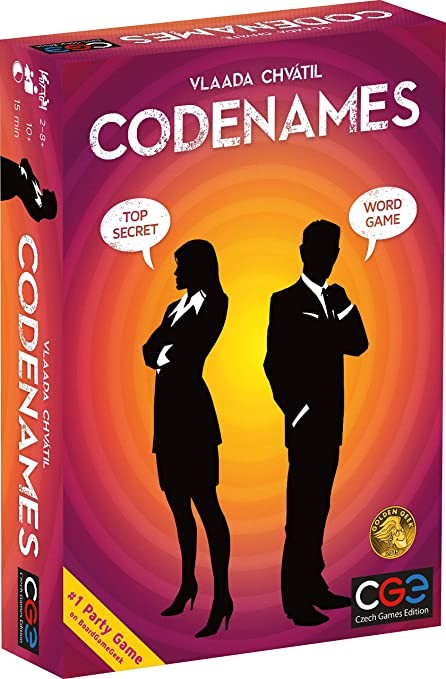 Amazon.com: Czech Games Codenames Multi, Standard: Toys & Games